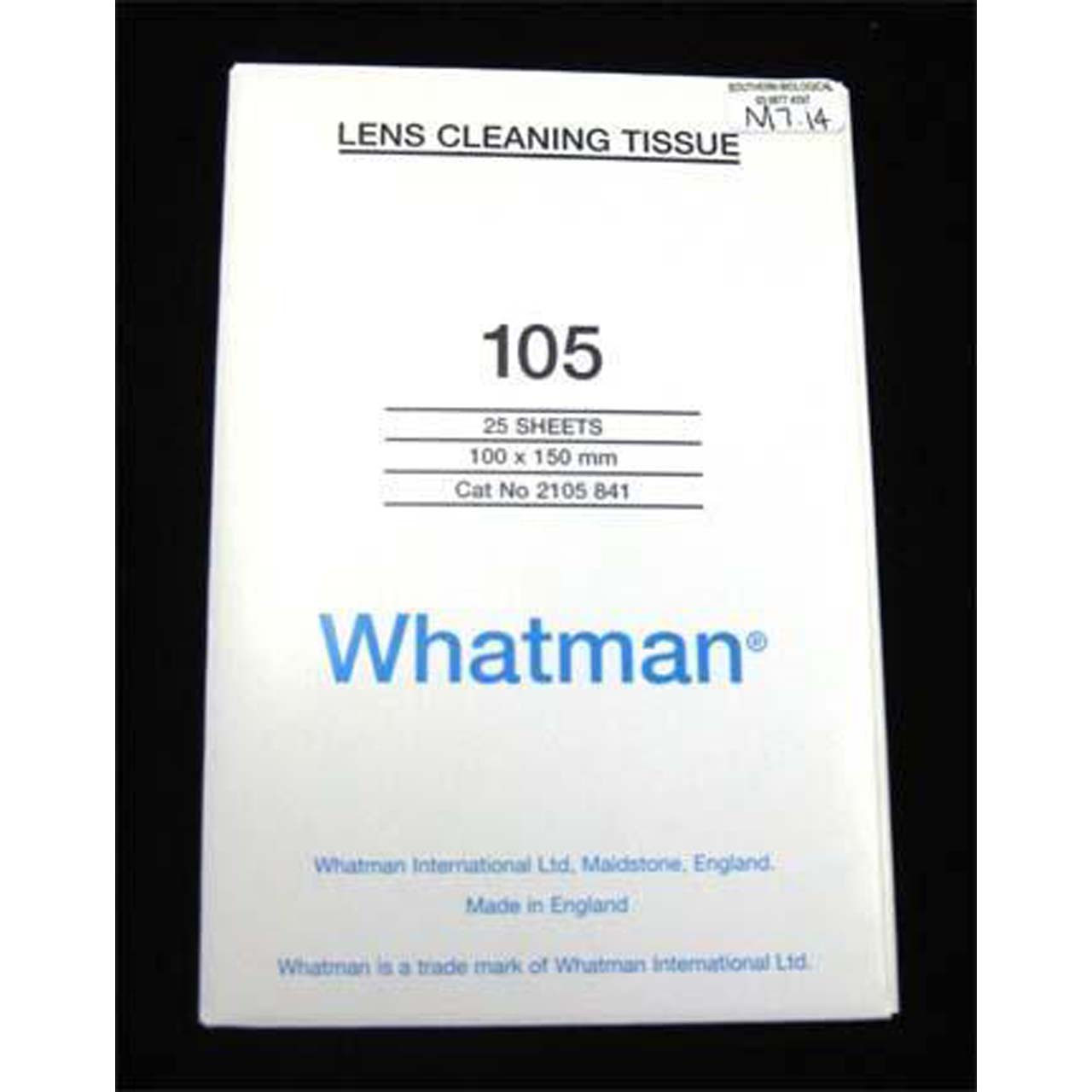 M7.14 - Lens tissue, 100 x 150mm, 25 sheets