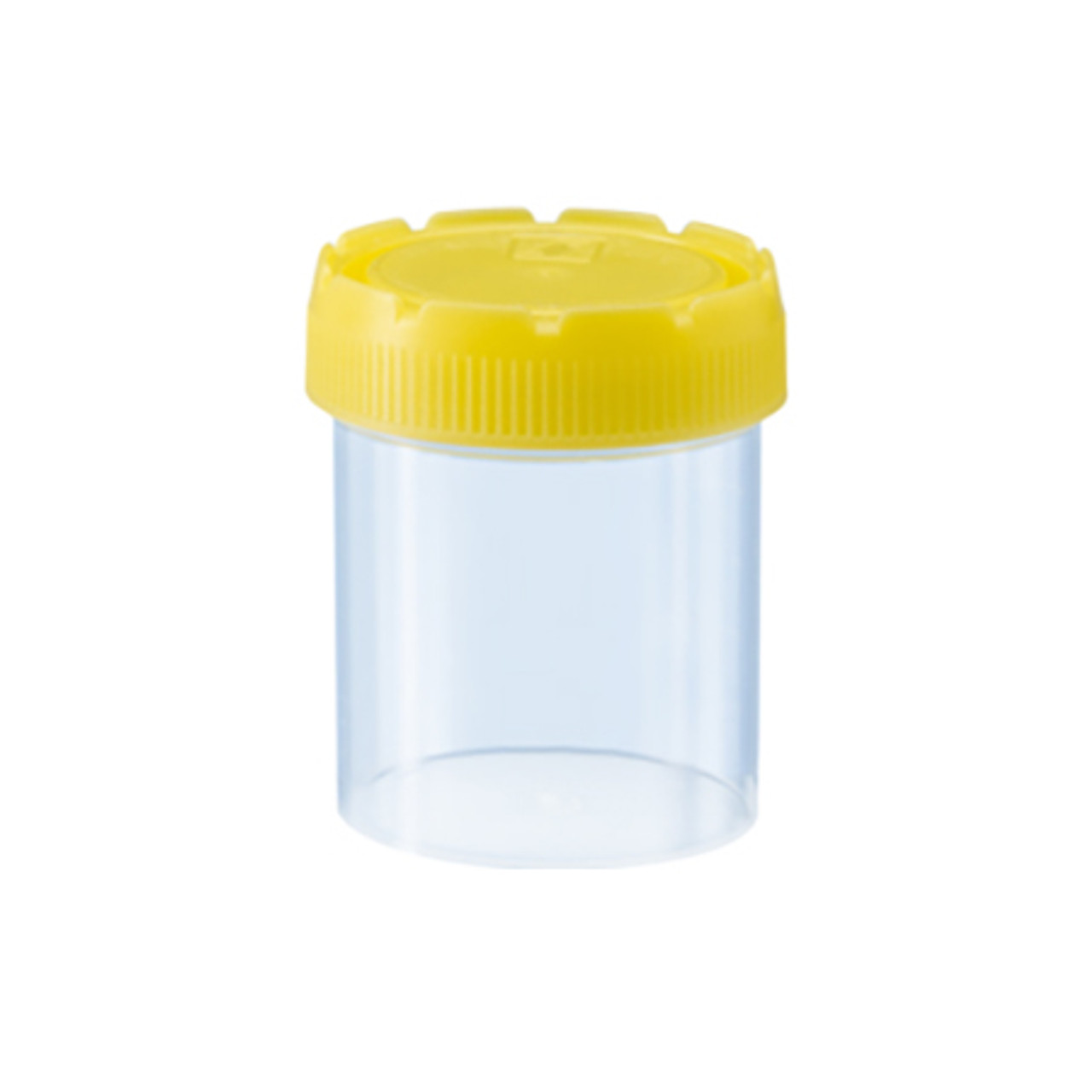 70mL plastic vial with lid, polypropylene