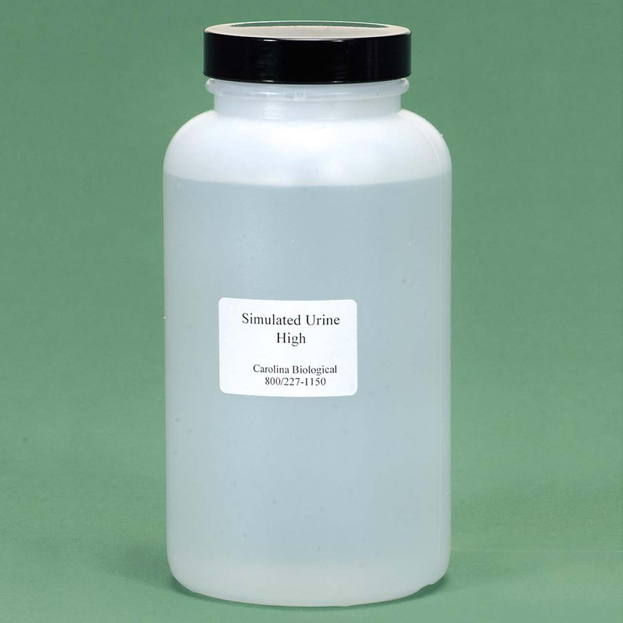 Simulated urine, High