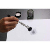 Magnetic fingerprinting powder