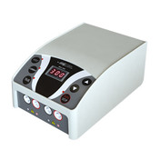 Featuring in small size and versatility, the newly designed Mini Pro 300V  Power Supply is an ideal choices for any researcher or educator. Capable of providing constant voltage or current in 1V or 1mA increment, the unit is perfectly suitable to run both vertical polyacrylamide or horizontal agarose gel electrophoresis experiments. Continuous or timed operation can be easily set up using the simple and user-friendly interface.