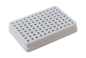 Insert tray for empty 96-tip Tip SystemBox, grey, for 1-10uL tips, autoclavable
