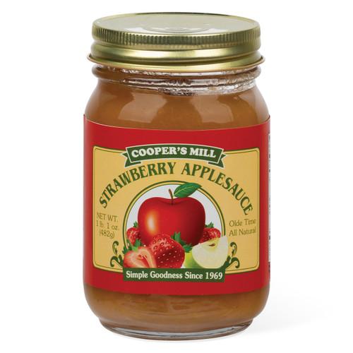 Strawberry Applesauce Pint