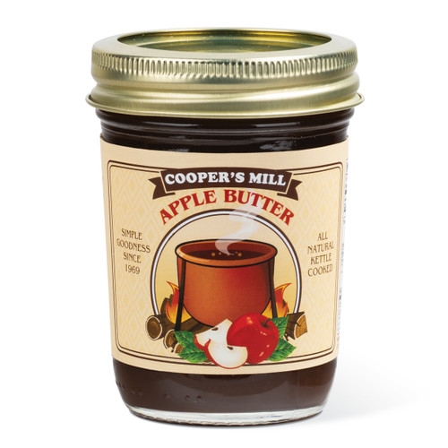 Apple Butter (With Sugar, No Cinnamon) - Half Pint