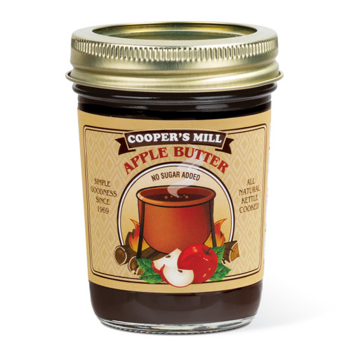Apple Butter (No Sugar, No Cinnamon) - Half Pint