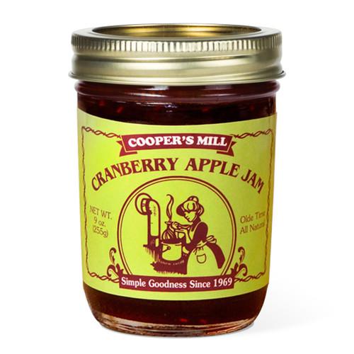 Cranberry Apple Jam - Half Pint