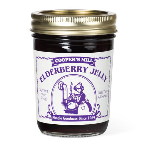 Elderberry Jelly - Half Pint