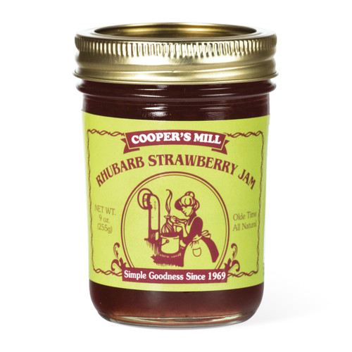 Rhubarb Strawberry Jam - Half Pint