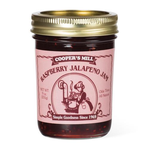 Raspberry Jalapeno Jam - Half Pint