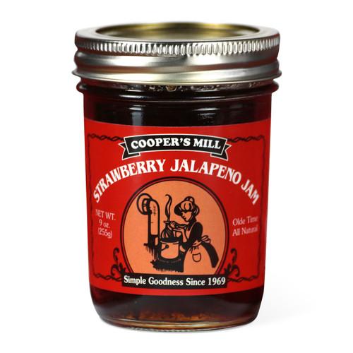 Strawberry Jalapeno Jam - Half Pint