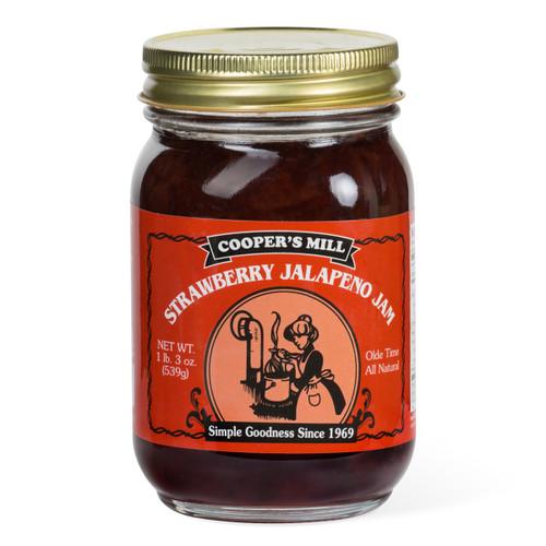 Strawberry Jalapeno Jam - Pint