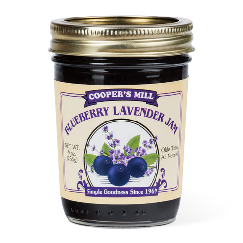 Blueberry Lavender Jam - Half Pint