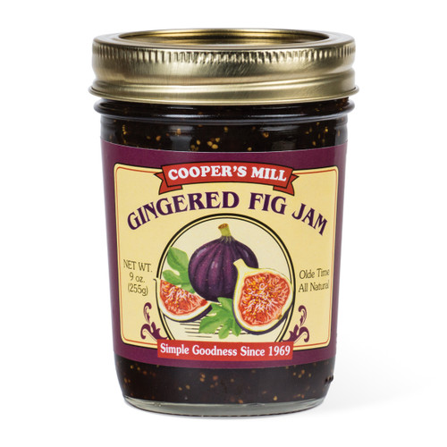 Gingered Fig Jam - Half Pint