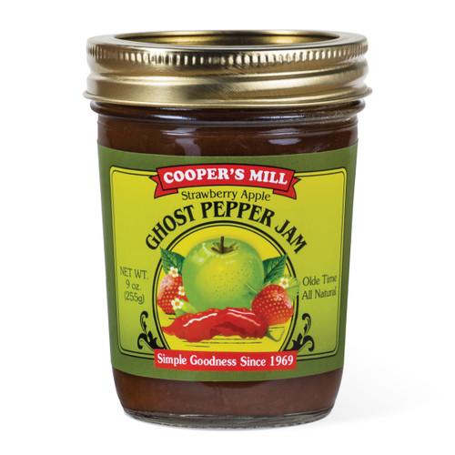 Strawberry Apple Ghost Pepper Jam - Half Pint