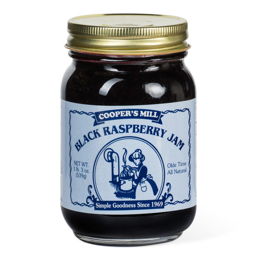 Black Raspberry Jam - Pint