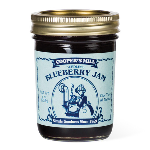 Blueberry Jam (Seedless) - Half Pint