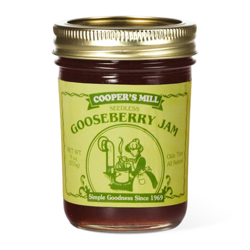 Gooseberry Jam (Seedless) - Half Pint