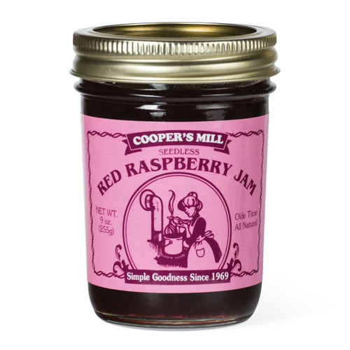 Red Raspberry Jam (Seedless) - Half Pint