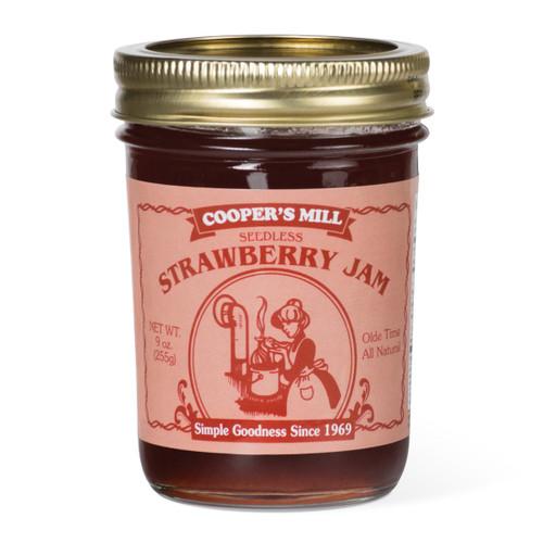 Strawberry Jam (Seedless) - Half Pint