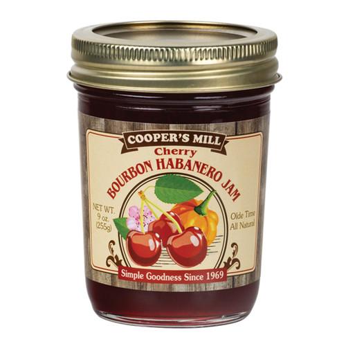 Cherry Bourbon Habanero Jam - Half Pint
