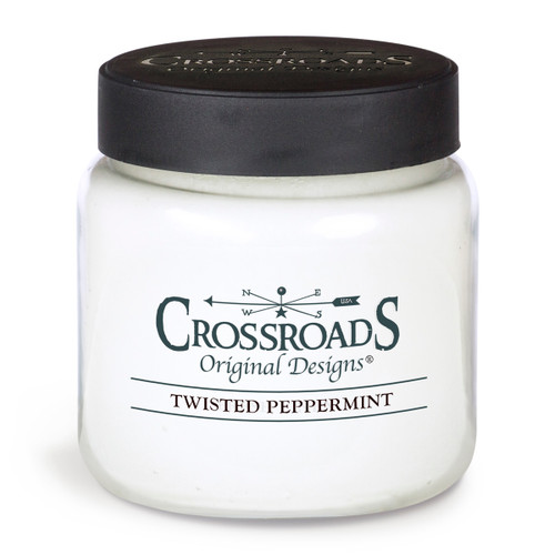Twisted Peppermint - 16 oz. Candle