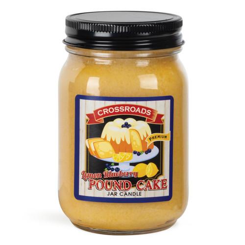 Lemon Blueberry Pound Cake - 12 oz. Pint Candle