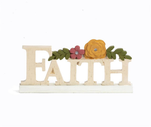 """Faith"" - Resin Plaque"