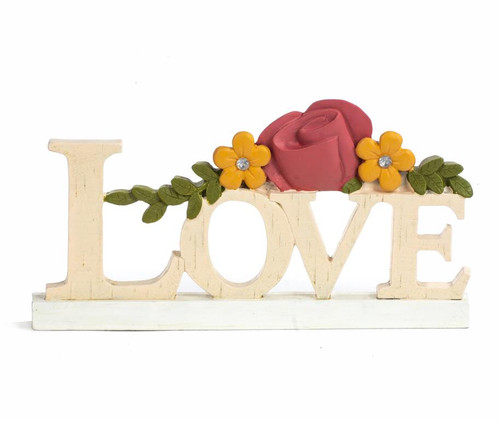 """Love"" - Resin Plaque"