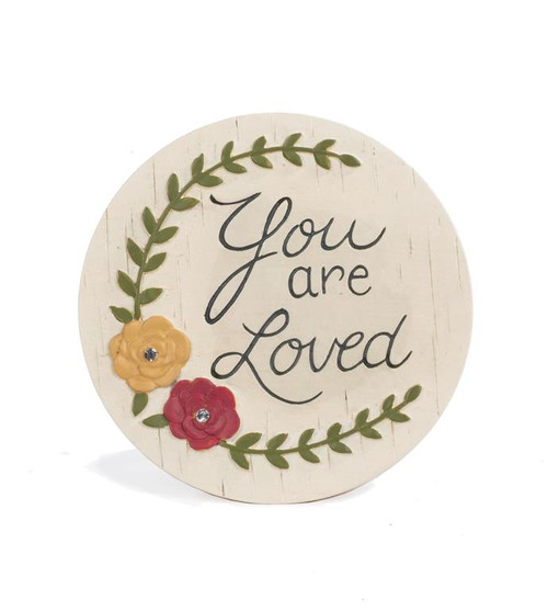 """You Are Loved"" - Resin Plaque"