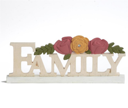 """Family"" - Resin Plaque"