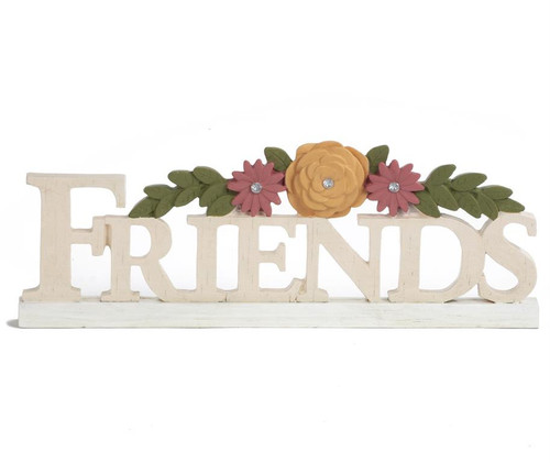 """Friends"" - Resin Plaque"