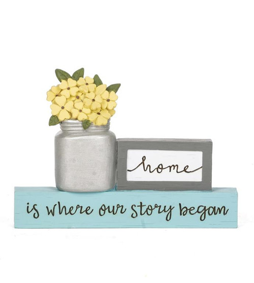 """""""Where Our Story Began"""" - Resin Plaque"""