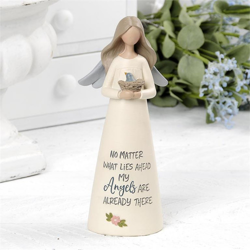 """Angels Are Already There"" Angel - Resin Figurine"