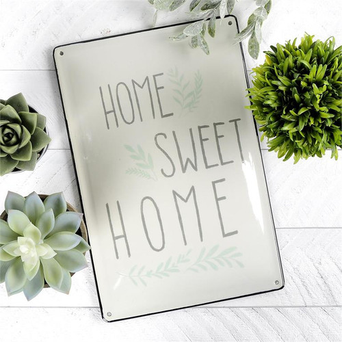 """Home Sweet Home"" - Metal Sign"
