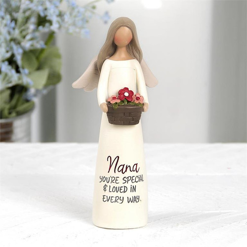 """Nana, You're Special"" Angel - Resin Figurine"
