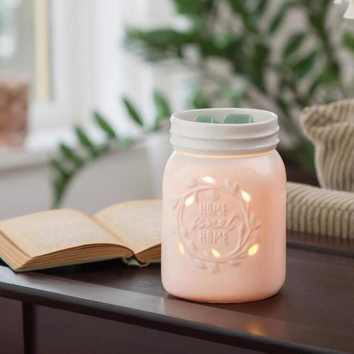Mason Jar Illumination Warmer
