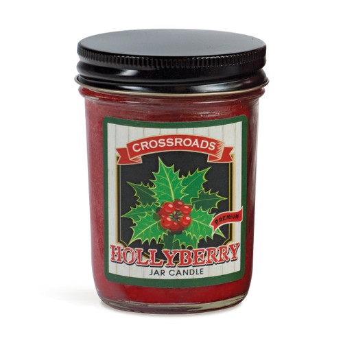Hollyberry - 6 oz. Half Pint Candle