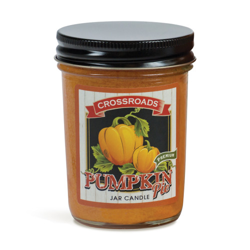 Pumpkin Pie - 6 oz. Half Pint Candle