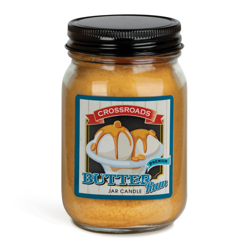 Butter Rum - 12 oz. Pint Candle