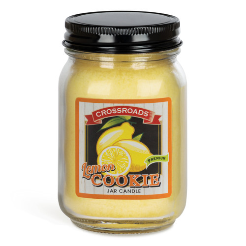 Lemon Cookie - 12 oz. Pint Candle