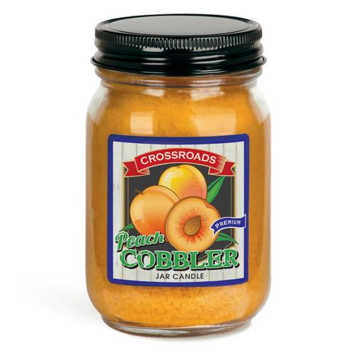 Peach Cobbler - 12 oz. Pint Candle
