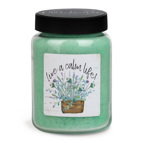 MB26-20127 Candle With Artwork