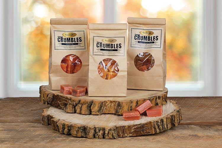 shop fragrant crumbles