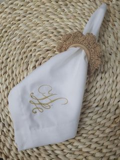 Monogrammed Table Napkin