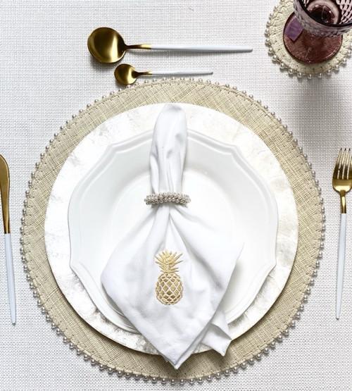 Handmade  Round Placemat