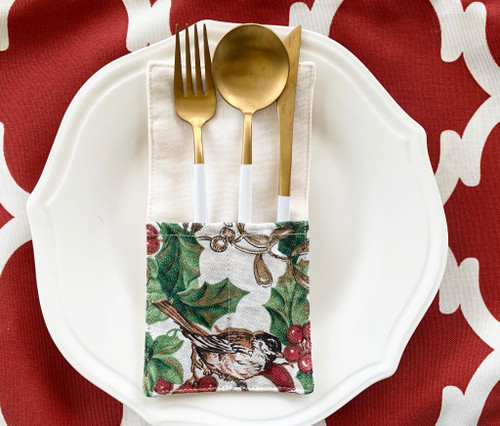 Christmas Design Utensil Holder