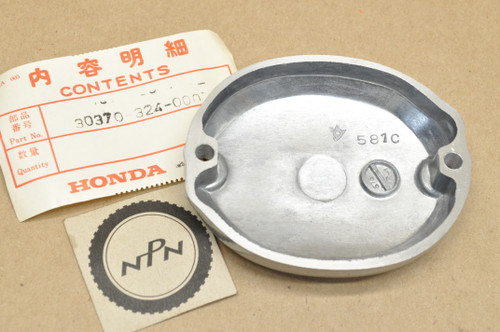 NOS Honda CB125 CL125 CT125 SL125 TL125 XL125 Points Inspection Cover 30370-324-000
