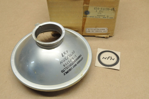 NOS Yamaha 1976 IT400 1979-81 TT500 1974-77 TY250 Koito Head Light Lens 6V 35/35W 434-84120-60