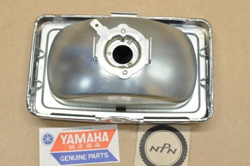 NOS Yamaha 1981-83 XJ750 Seca Koito Auxiliary Fog Head Light Lens & Bezel Rim Assembly 12V 35W 5G2-85462-60