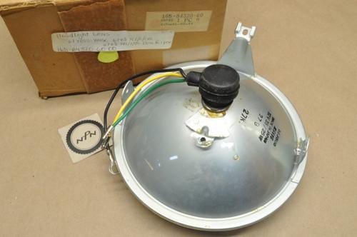 NOS Yamaha YDS5 YL2 YLCM YR1 YR2 Koito Sealed Beam Head Light Lens 12V 35/25W 168-84320-60